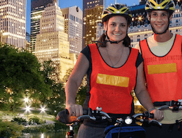 Take a guided bike tour through Central Park