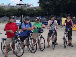 Take our Waterfront Greenway Central Bike Tour